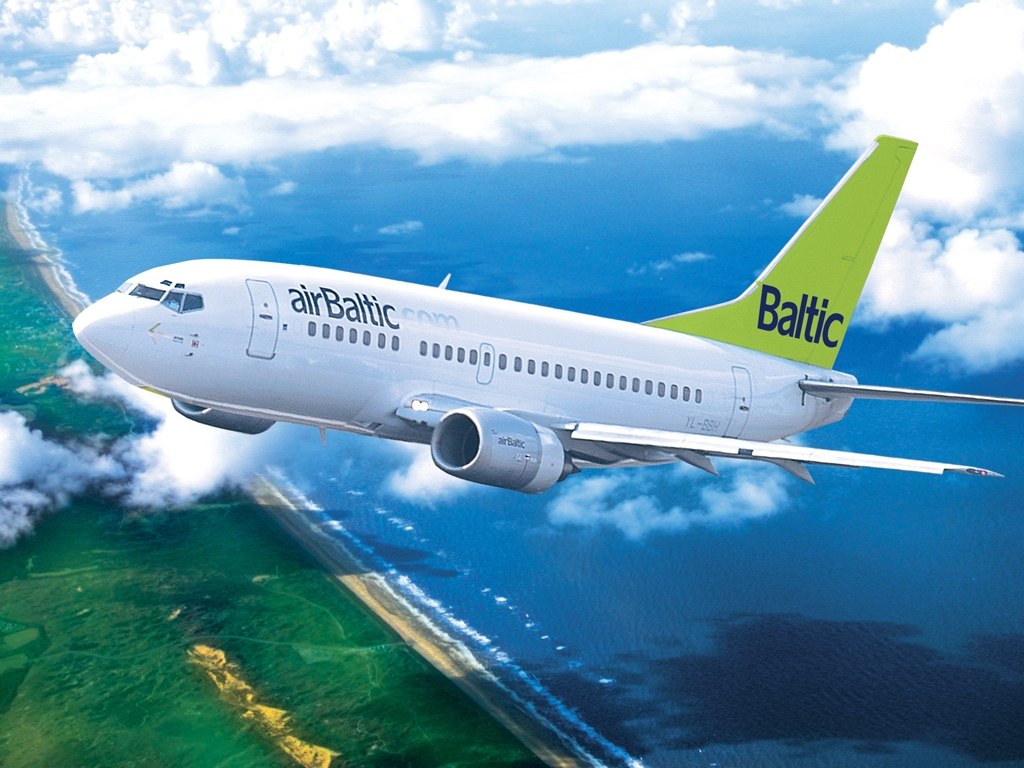 Airbaltic suurendab lennusagedust Chisinau ja Amsterdami liinidel