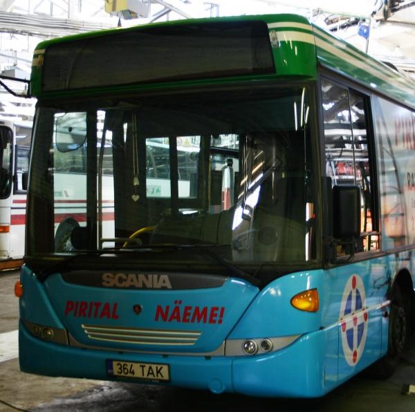 Bussijuhte kohustatakse aitama puudega inimesi