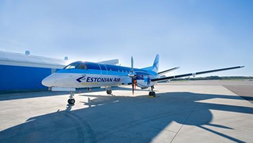 Estonian Air teenindab Tallinna-Peterburi liini suuremate lennukitega