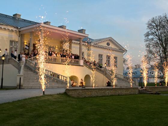 Kevade saabumisega algab  pidude hooaeg Vihterpalu mõisas