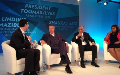 President Ilves mõjukal Google'i konverentsil: IT-lahendused tegid Eestist suurriigi