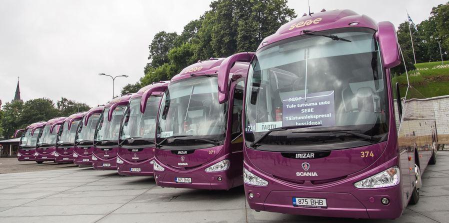 Täistunniekspressi bussid läksid üle 4G internetile