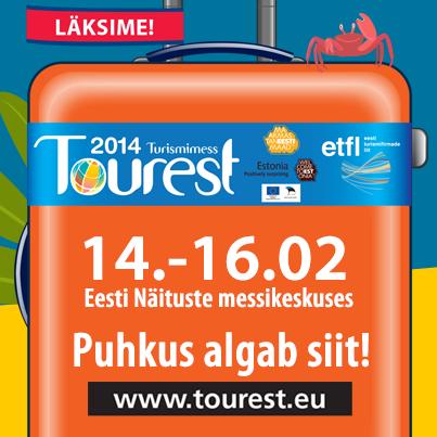 Tourestil eksponente 24 riigist