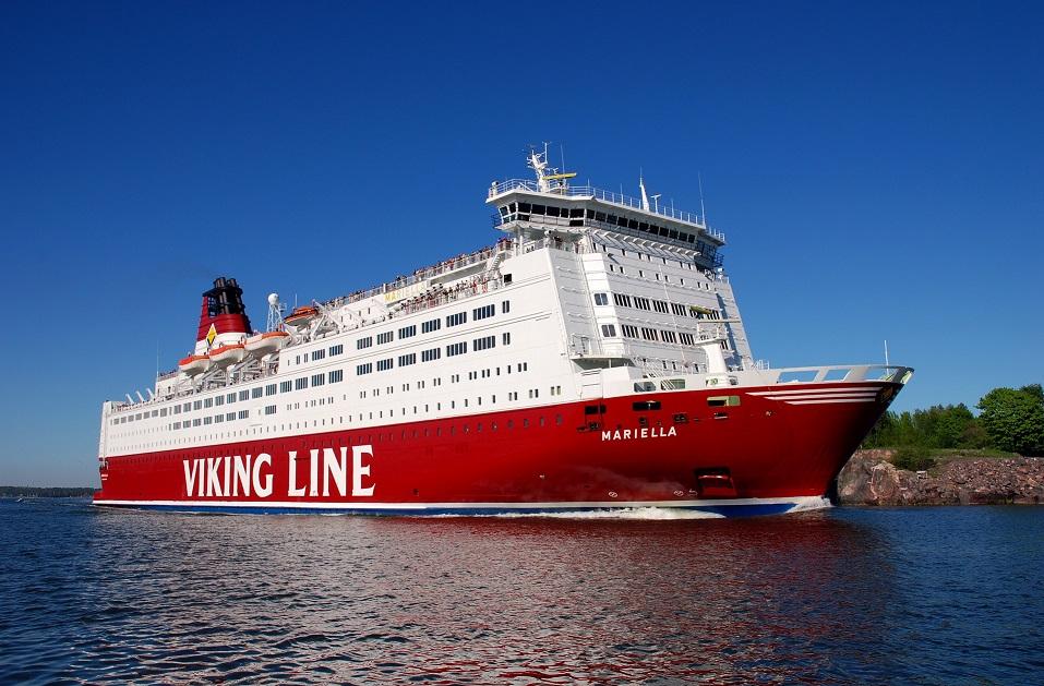 Suvel saab Viking Line'i laevadega kolm korda päevas Helsingisse