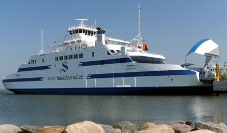 Väinamere laevareisijate hulk kasvas aprillis oluliselt