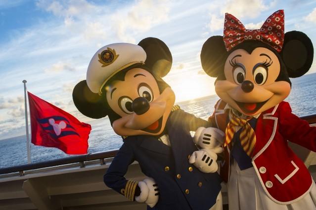 Miki Hiirega merele ehk Disney Cruise Line