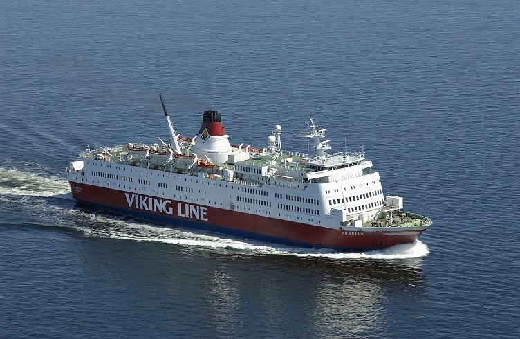 Viking Rosella 17.08.2003-18.04.2008, 1700 reisijakohaga parvlaev