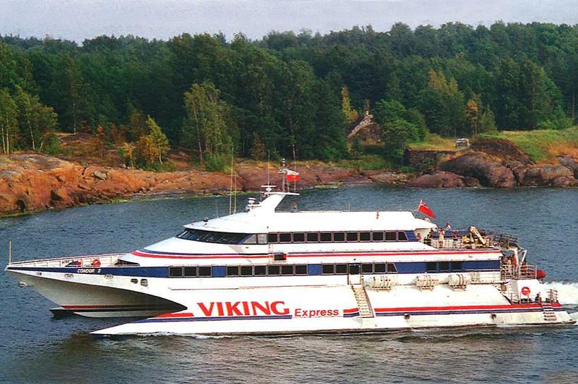 Viking Express (Condor 9), 17.06-10.09.1994, 450 reisijakohaga kiirkatamaraan