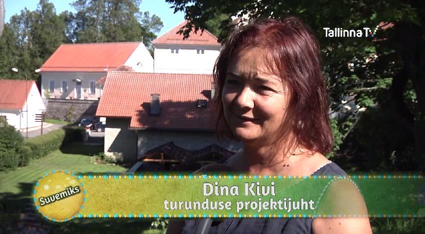 VAATA VIDEOT! Dina Kivi tutvustab TTV saates Suvemiks Vihula mõisa valdusi