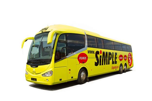 Simple Express viib Tartusse ja Narva 3 euroga