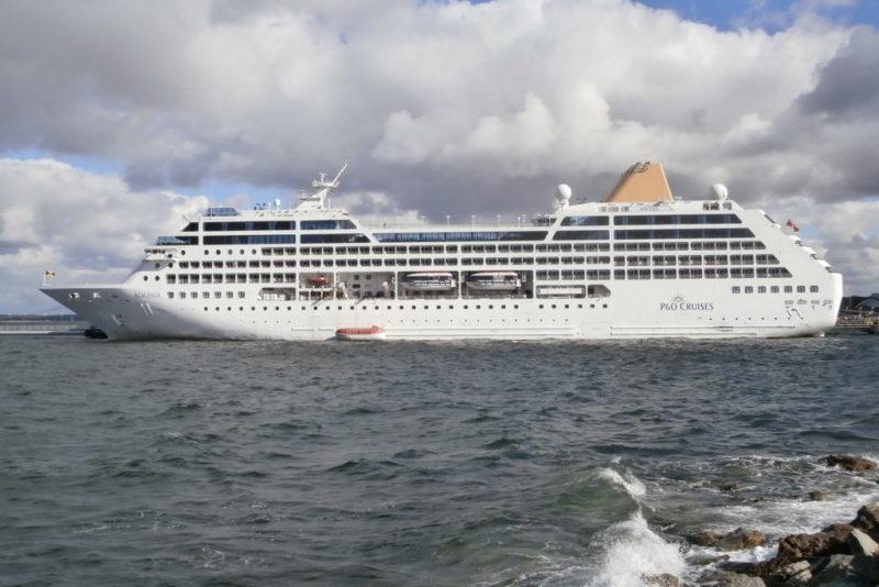 Tänane kruiisilaevakülastus tõi rekordi Saaremaa sadamale