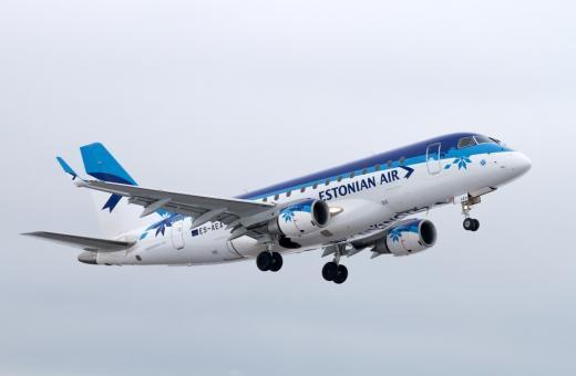 Estonian Airi reisijate arv kasvas kolmandat kuud järjest