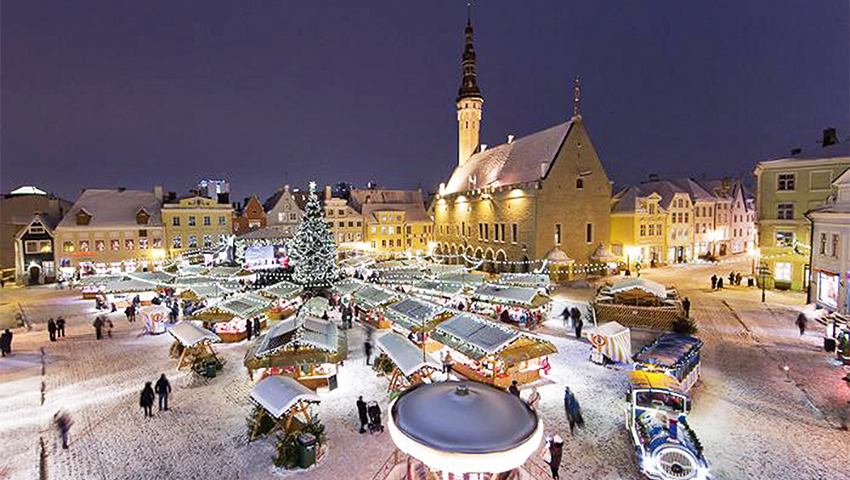 Turistide seas on Tallinn kõrgelt hinnatud