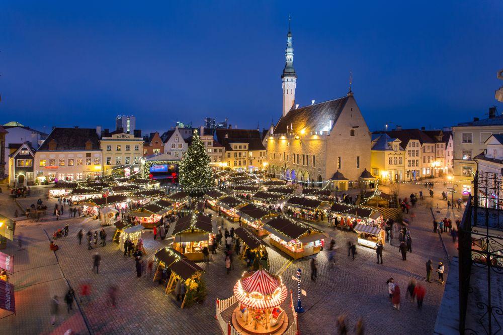 Täna avatakse Tallinna Jõuluturg 2014