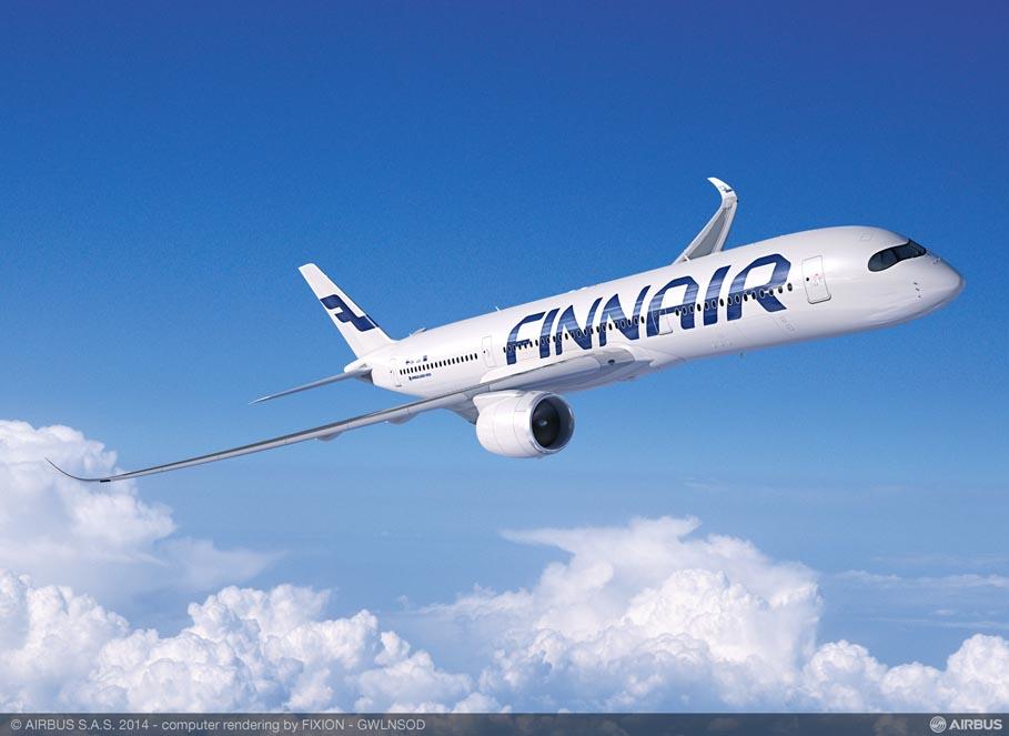 Finnair tellib kaheksa uut Airbusi laiakerelist reisilennukit