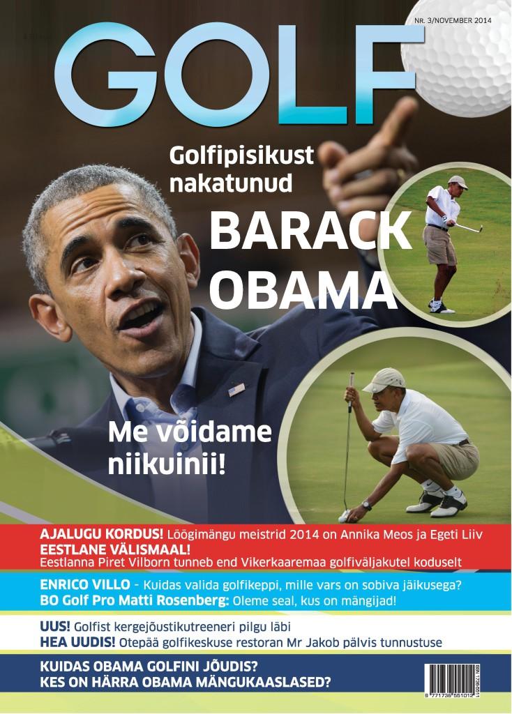 KINGIIDEE! Detsembris tellitud ajakiri Golf on soodne jõulukink