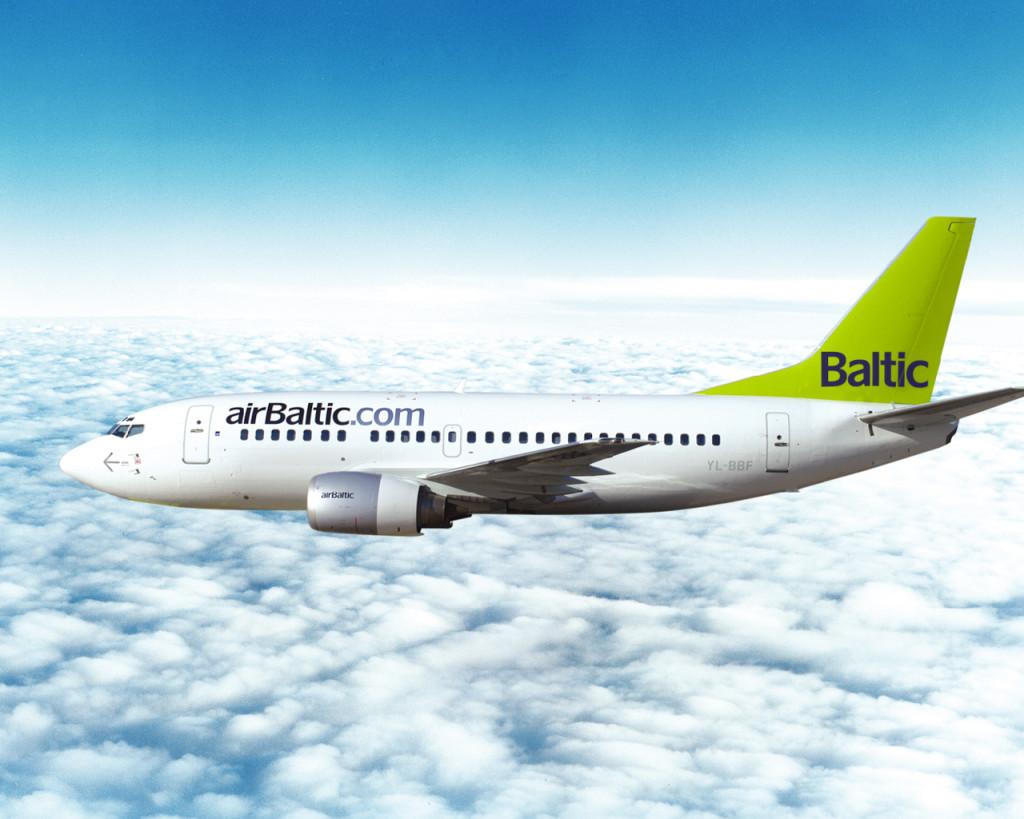 airBaltic punktuaalsuses on maailma parim