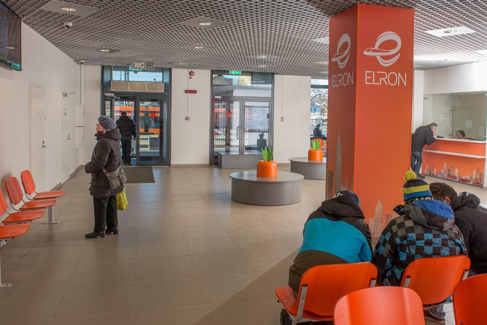 Elron avas Balti jaamas uue ootesaali