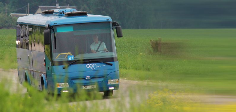 Go Bus avab uue bussiliini Rakvere-Aseri-Kohtla-Järve-Jõhvi