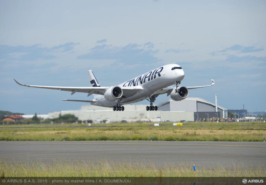 Finnair võttis esimesena Euroopas kasutusele Airbusi uue lennuki