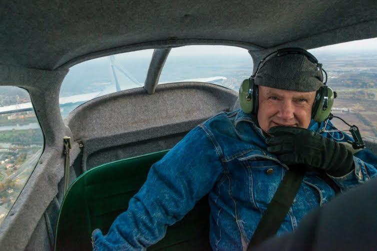 GOODNEWS REPORTAAŽ TARTU KOHALT: õhuavarustes koos taevafotograaf Margus Vilisooga