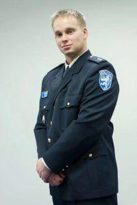 Andero Sepp Politsei– ja Piirivalveameti veebikonstaabel Foto: PPA