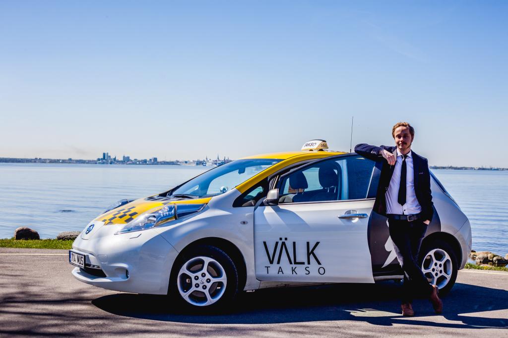 Henrik Harak: keskkonnateadlikud linnainimesed sõidavad Välk Taksoga