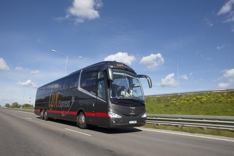LUX EXPRESS! Bussifirma astub järgmise sammu autosõidu vähendamiseks