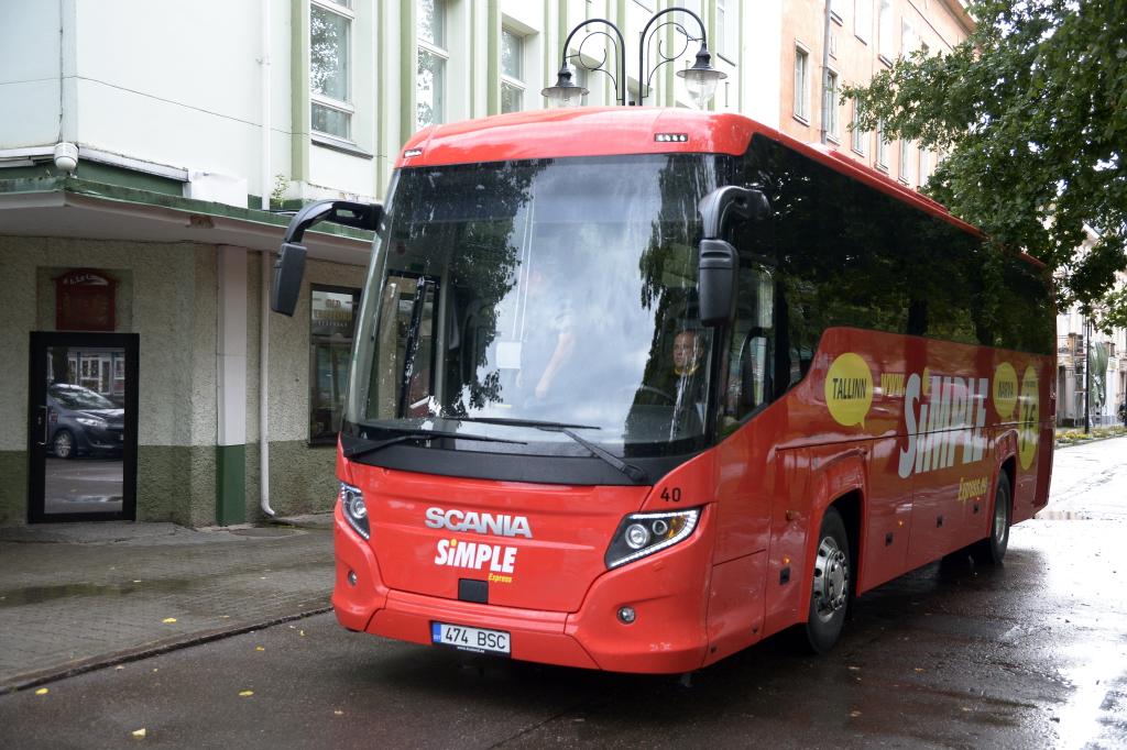 Simple Express käivitab Tallinn-Narva liinil kiire odavbussiühenduse