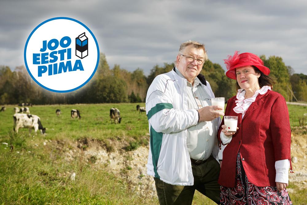 TOETA EESTI PÕLLUMEHI! Teeme oktoobris Eesti piimajoomise rekordi
