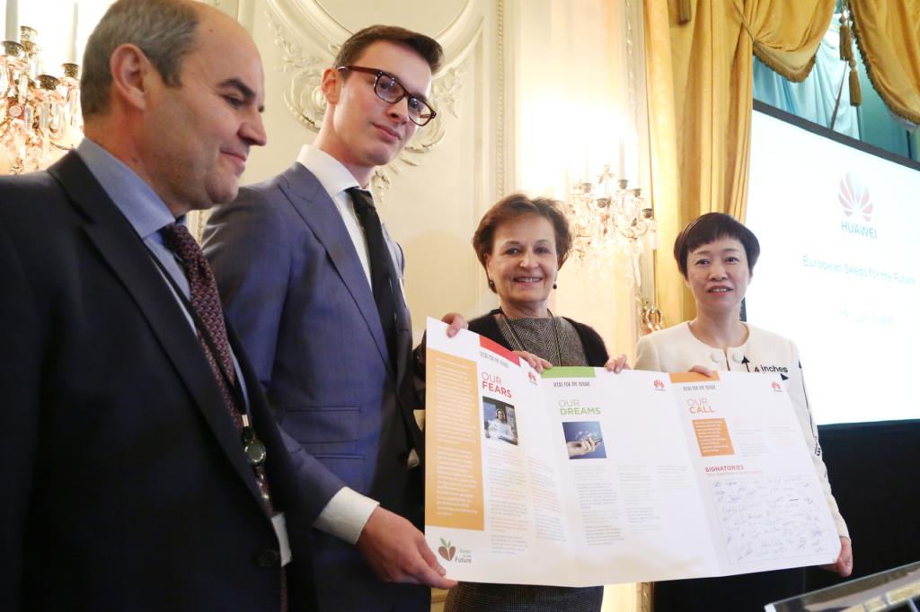 IT-tudengid esitlesid Euroopa Parlamendis Digitaalset Manifesti