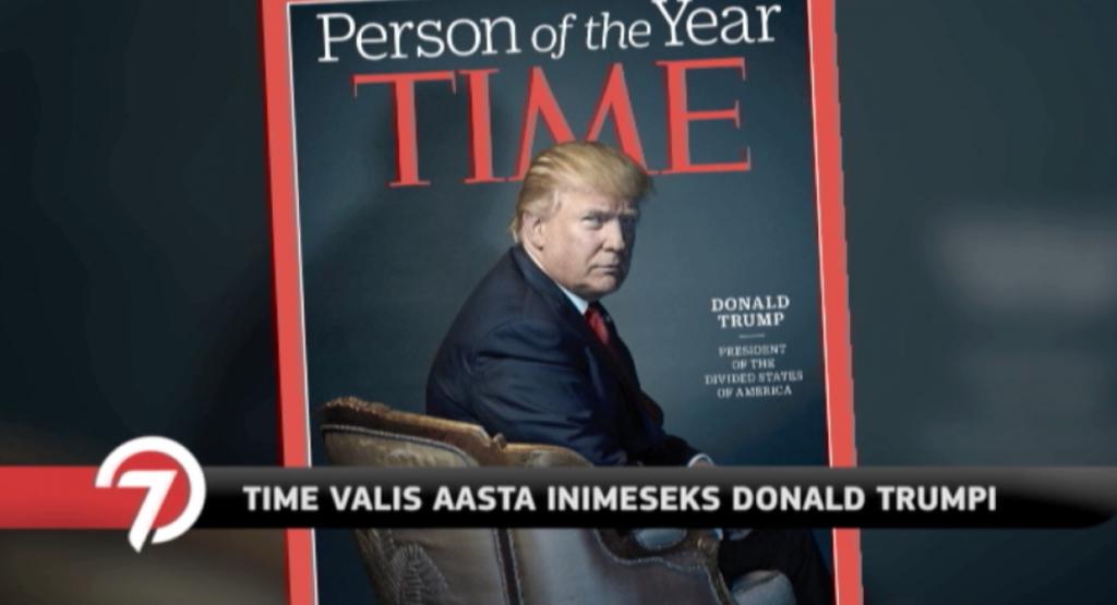 Video! Time valis aasta inimeseks Donald Trumpi