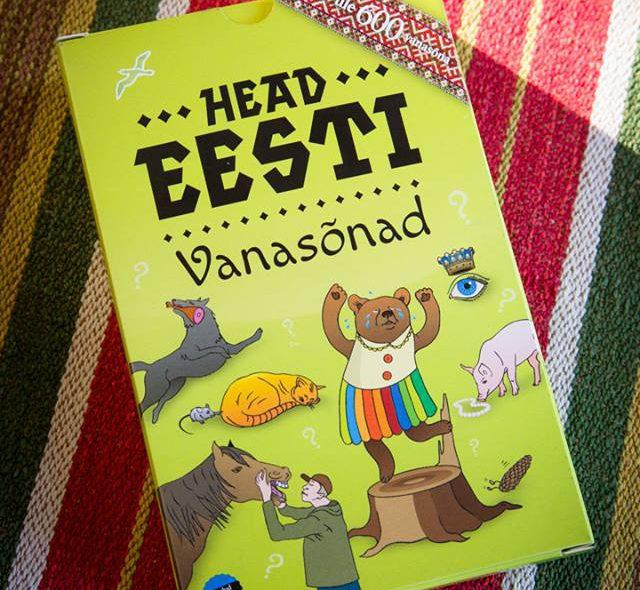 """""""Head eesti vanasõnad"""" on kingitus just aasta pikemateks õhtuteks"""