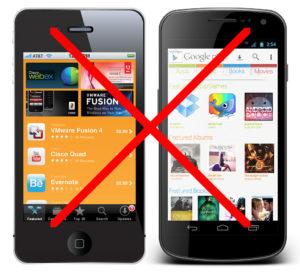 no-smartphones