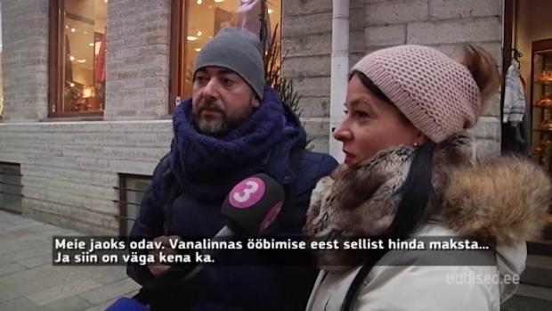 Vaata videot! Välismaa turistidele Eestis meeldib