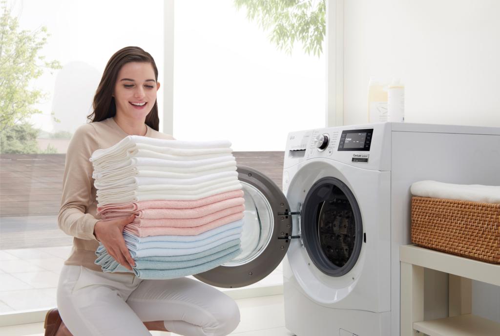 6 nippi korrektseks pesupesemiseks