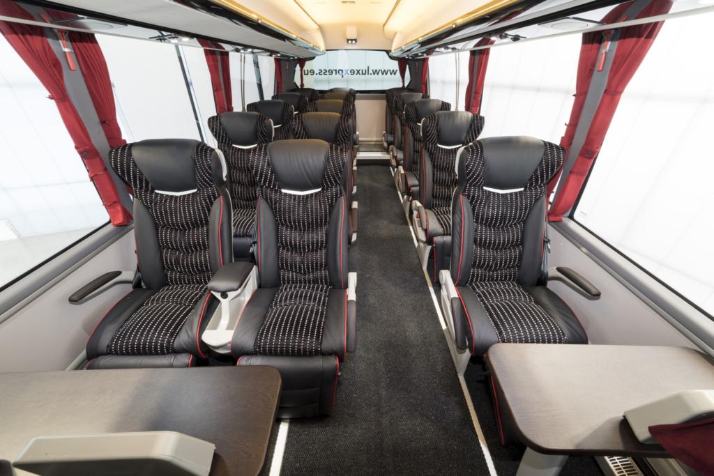 Fotod! Lux Expressi uued bussid on tänasest liinidel