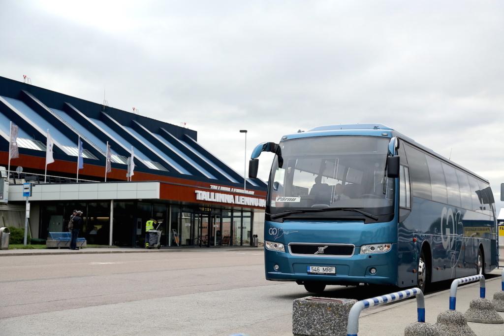 Go Busi Pärnu bussiliin sõidab nüüd Tallinna lennujaamani