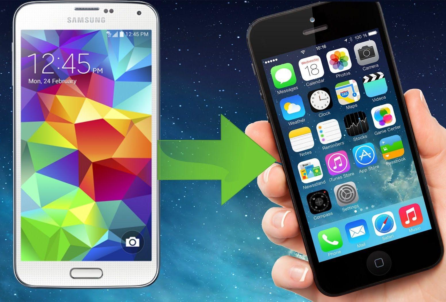 Androidilt iPhone'le