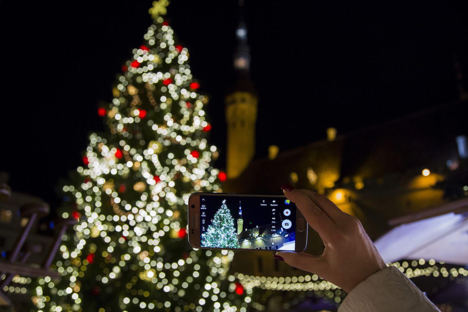 Nõuanded, kuidas nutitelefoniga jõuluajast nauditavaid videoid teha