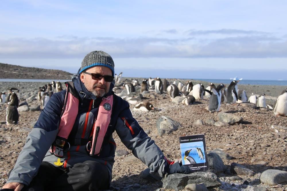 Antarktikasse suunduv Tiit Pruuli hakkab reisist live-blogi pidama