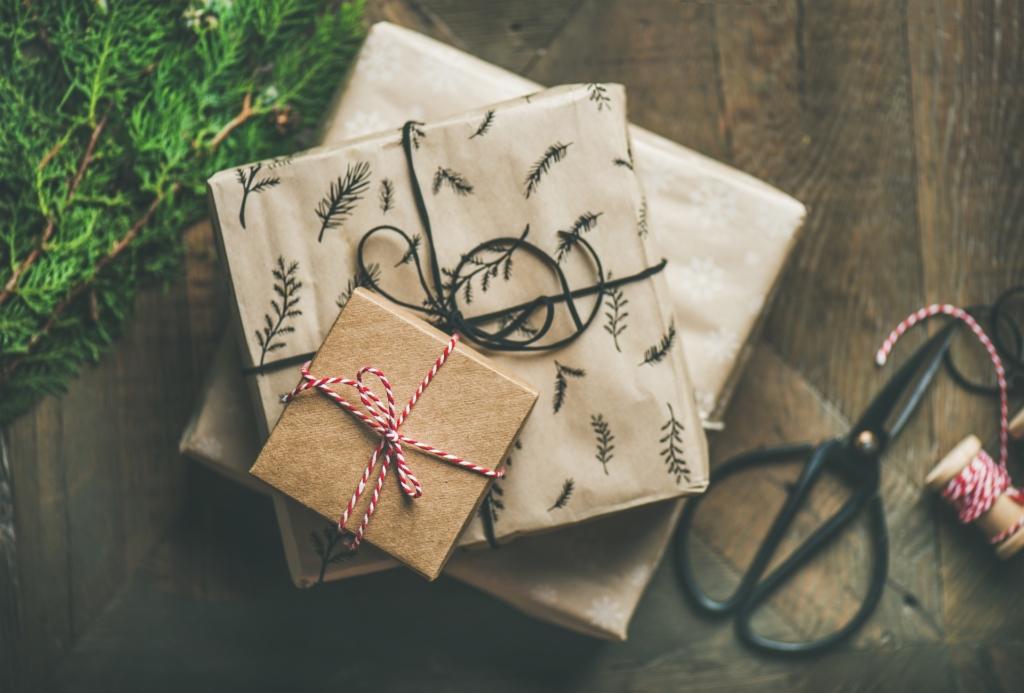 4 head nippi, mida kinkide pakkimisel meeles pidada