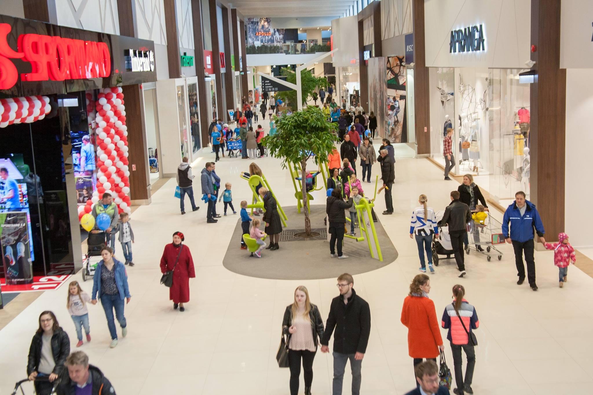 Google kandis Street View'sse esimese Eesti kaubanduskeskuse