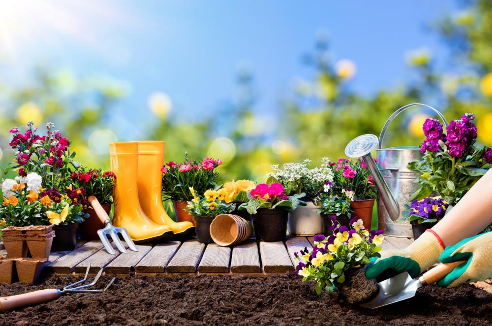 Valmistu aiatöödeks – kujundamiseks  tööriistad, lõppviimistluseks  aiavalgustid