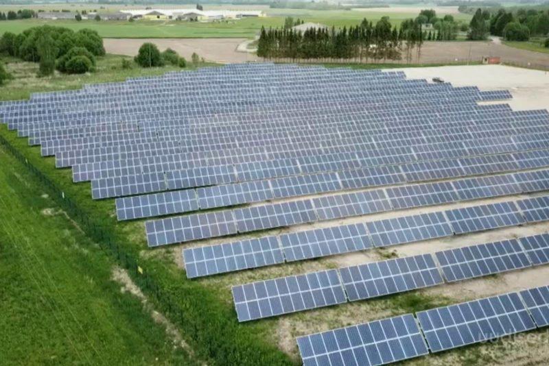 VIDEO! Eesti suurim päikeseelektrijaam varustab ettevõtteid ja sadu majapidamisi