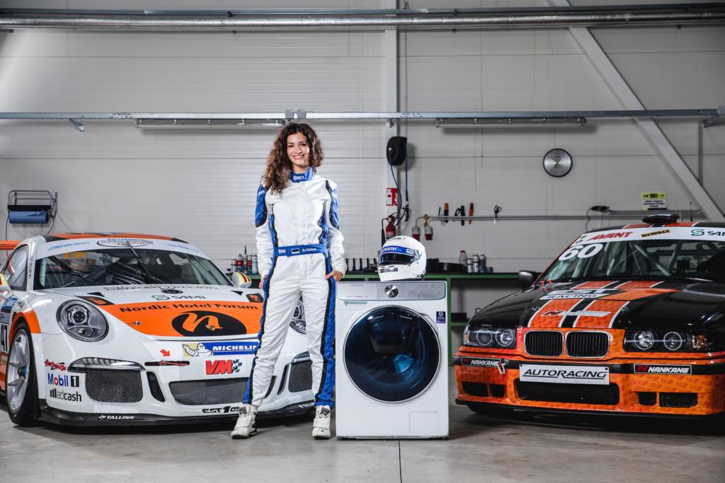 Autosportlane Simone Viidas annab nõu, kuidas riietelt raskeid plekke eemaldada