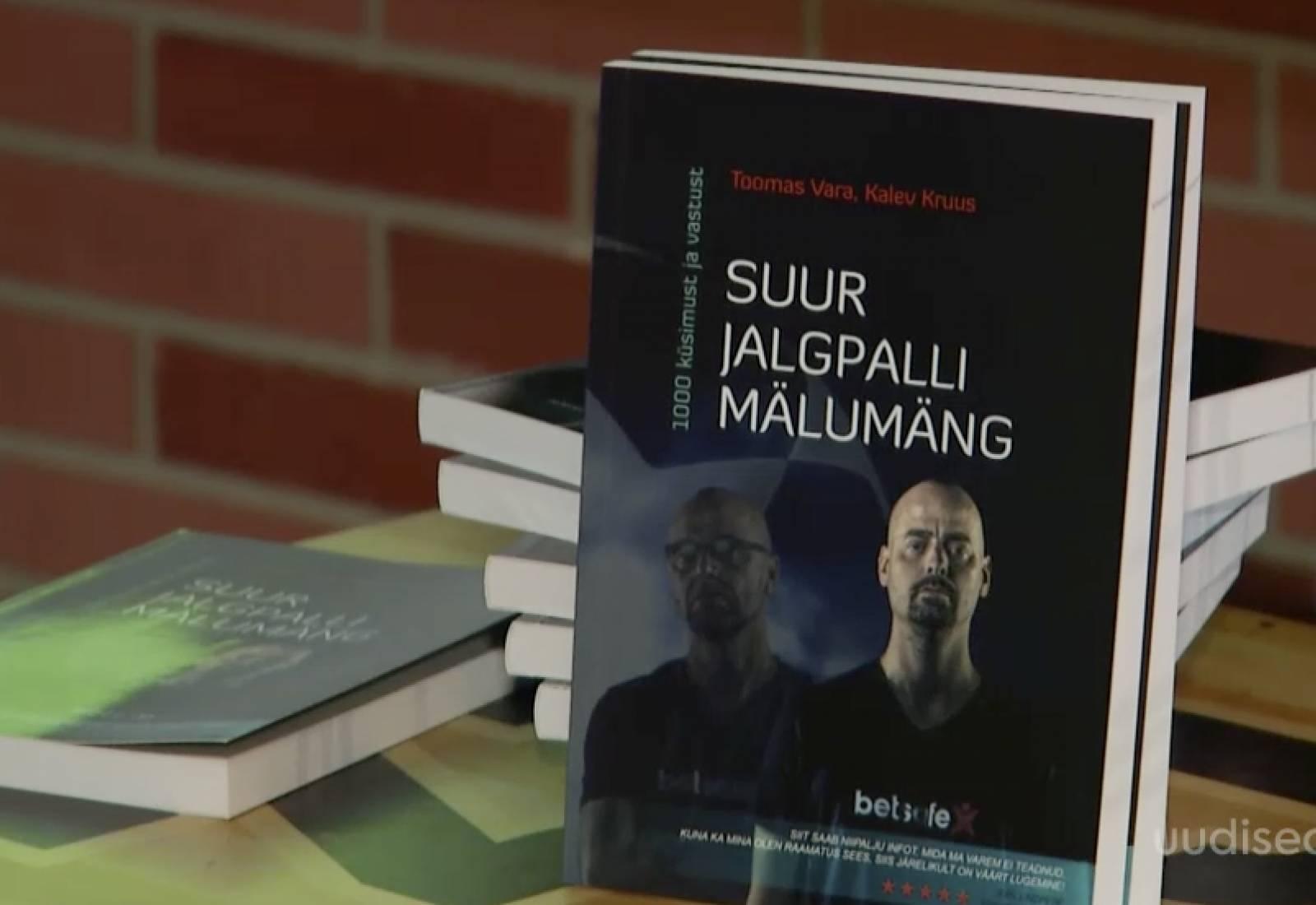 VIDEO! Iga jalkafänni unistus! Kalev Kruus ja Toomas Vara andsid välja mahuka mälumänguteose