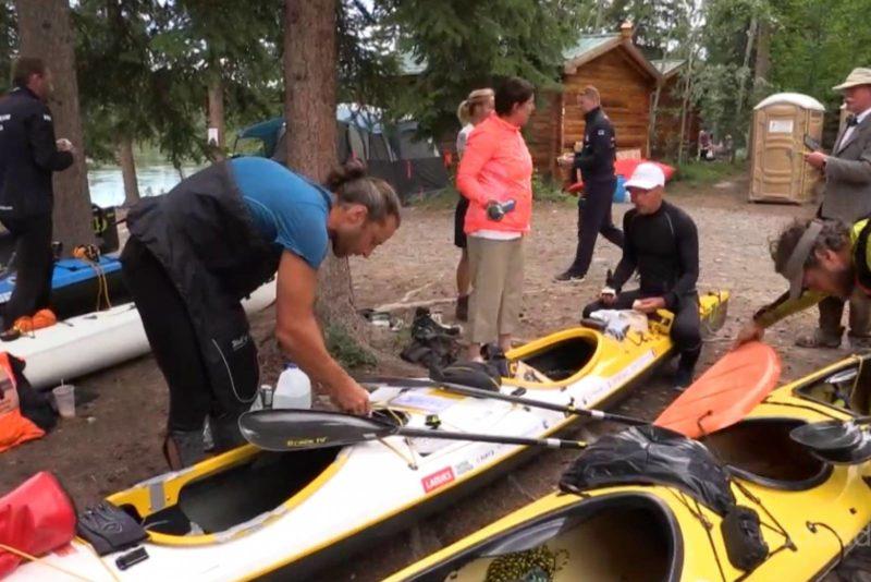 VIDEO! Hulljulged eestlased startisid Kanadas ränkraskel 715 kilomeetri pikkusel süstamaratonil