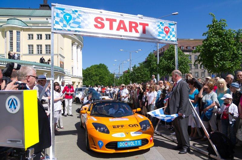 18. septembril stardib Tallinnast elektriautode maraton