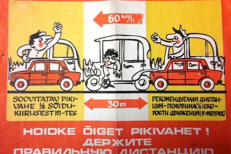 Kas teadsid, et liiklusohutusalase teavitustööga hakati Eestis tegelema juba 80 aastat tagasi?